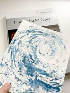My best paper for art prints is the Hahnemuhle Photorag 308gsm