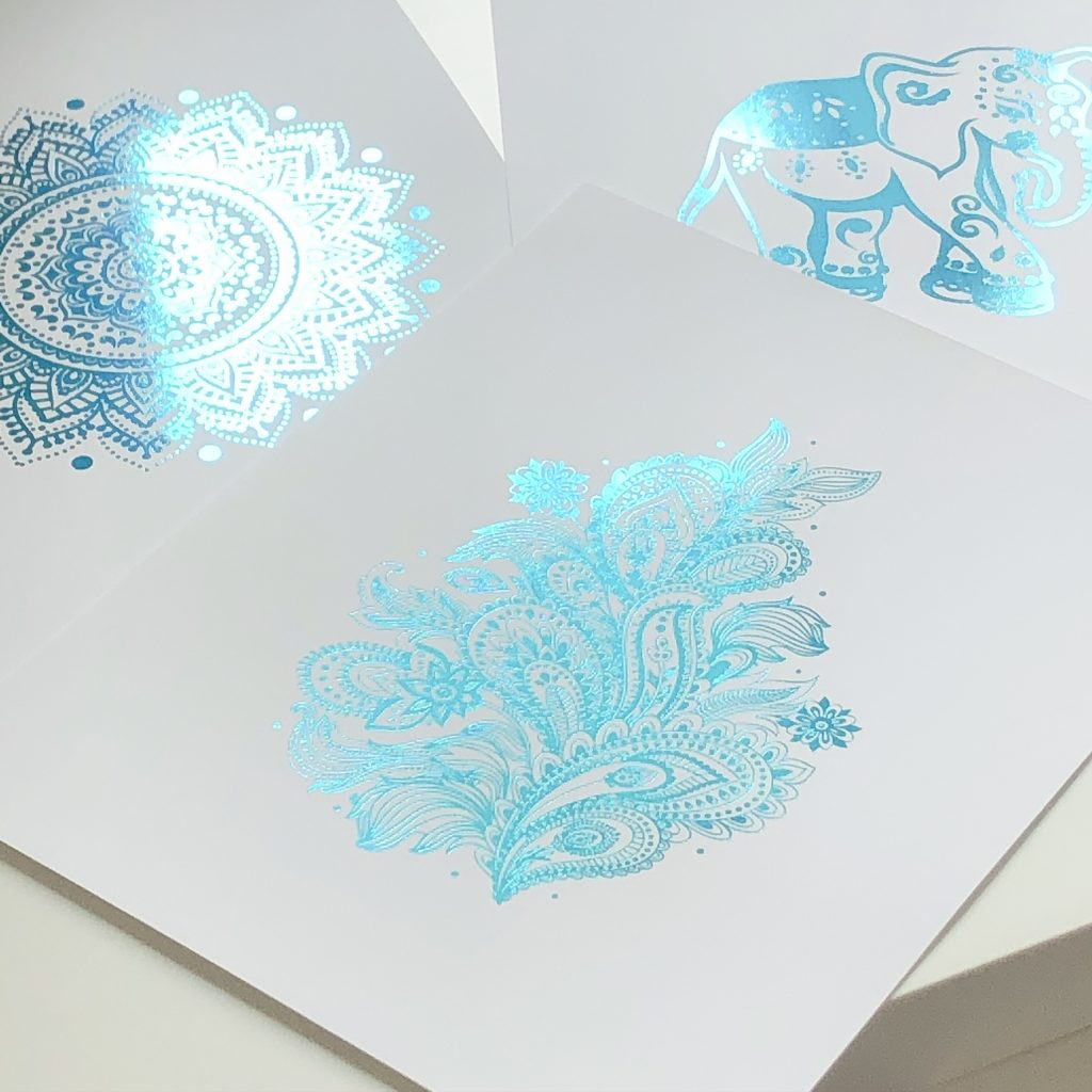 How to Make a Gold Foil Print,How to Add Gold Foil to Paper,Gold Foil Tutorial,Foiling Tutorial